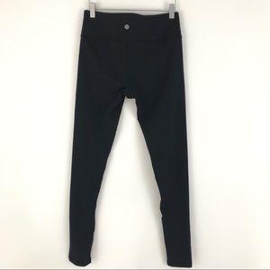 Lululemon Black Full Length Leggins Size 6 1951